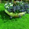 עיצוב גינות בדשא סינטטי